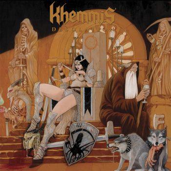 Khemmis - Desolation cover