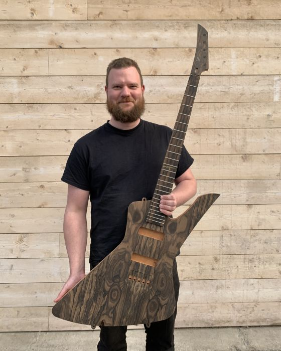 <em>Jort Heijen, Red Layer Guitars</em>